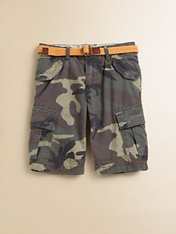 Scotch Shrunk - Boy's Camo Cargo Shorts