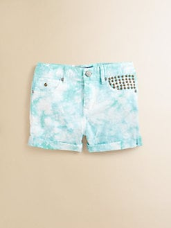 Scotch Shrunk - Girl's Tie-Dye Shorts