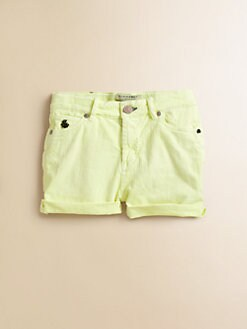 Scotch Shrunk - Girl's Textured Twill Shorts