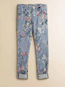 Scotch Shrunk - Girl's Floral Print Jeans