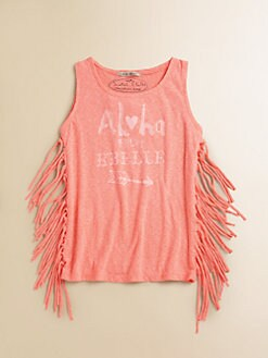 Scotch Shrunk - Girl's Fringed Tank