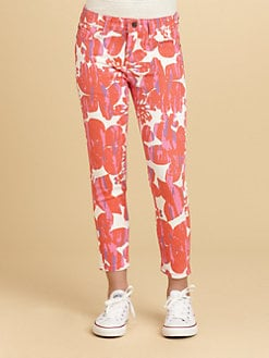 DKNY - Girl's Sabrina Print Jeans