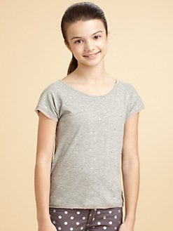 DKNY - Girl's Marci Rhinestone Tee