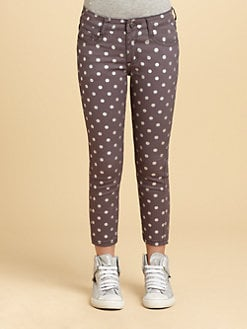 DKNY - Girl's Monique Dotted Jeans