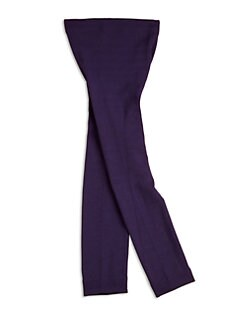 Plush - Girl's Footless Fleece-Lined Tights
