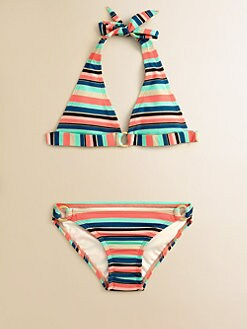 Shoshanna - Girl's Brisbane Two-Piece Bikini Set