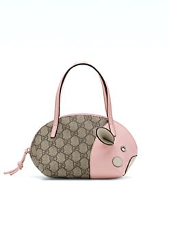 Gucci - Girl's Zoo Handbag