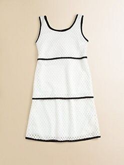 Sally Miller - Girl's Crochet Layered-Look Dress