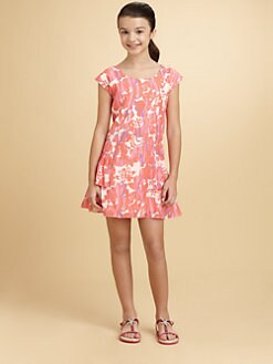 DKNY - Girl's Natalie Floral Print Dress
