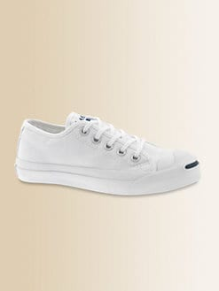 Converse - Kid's Jack Purcell Canvas Lace-Up Sneakers