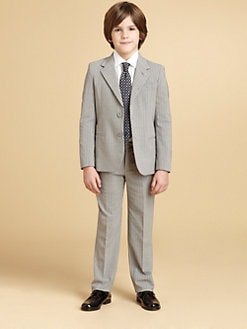 Armani Junior - Boy's Two-Piece Pinstriped Wool Suit