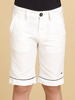 Armani Junior - Boy's Piped Shorts