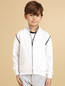 Armani Junior - Boy's Piped Sweater