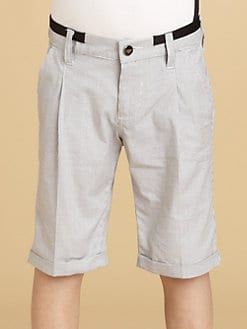 Armani Junior - Boy's Check Shorts