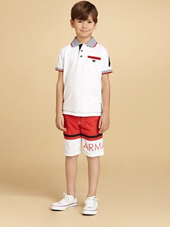 Armani Junior - Boy's Logo Polo Shirt