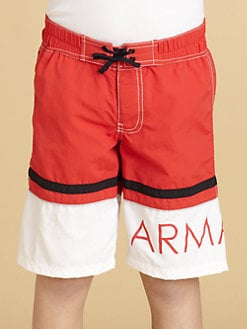 Armani Junior - Boy's Logo Swim Trunks