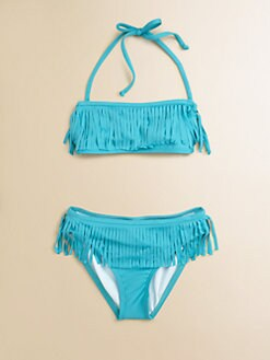 Ella Girl - Girl's Caravan Two-Piece Fringe Bikini Set