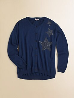Design History - Girl's Hi-Lo Star Cardigan