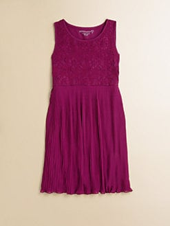 Design History - Girl's Lace Chiffon Dress