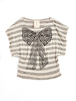 Kiddo - Girl's Bow Top