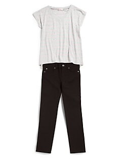 7 For All Mankind - Girl's Skinny Pants