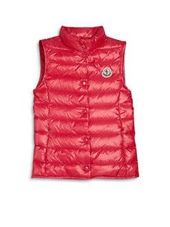 Moncler - Girl's Liane Down Puffer Vest