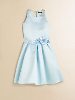 David Charles - Girl's Satin Prom Dress