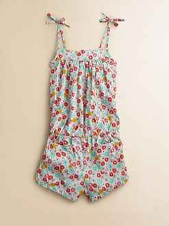 Petit Bateau - Girl's Flower Romper