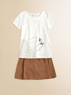 Chloe - Girl's Sequined Tee