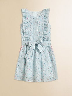 Chloe - Girl's Floral Print Dress