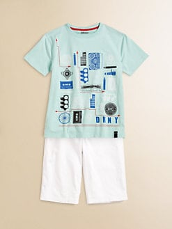 DKNY - Boy's City Elements Tee
