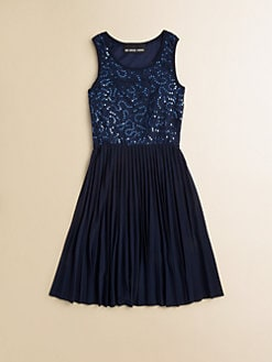 Un Deux Trois - Girl's Lace Tank Dress