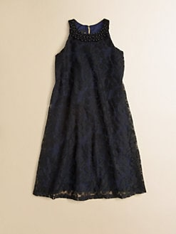 Un Deux Trois - Girl's Swing Lace Dress