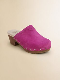 UGG Australia - Girl's Evie Wood Clogs