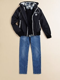 Diesel - Boy's Jiquy Nylon Windbreaker