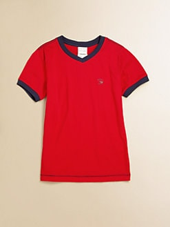Diesel - Boy's Cotton Ringer Tee