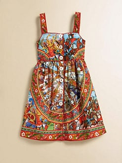 Dolce & Gabbana - Girl's Print Cotton Dress