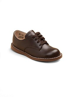 Footmates - Infant's, Toddler's & Boy's Leather Lace-Up Shoes