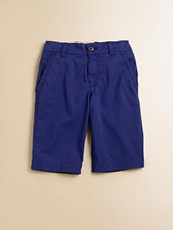 Hugo Boss - Boy's Stretch Twill Bermuda Shorts