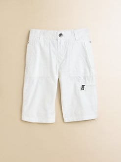 Hugo Boss - Boy's Poplin Cargo Shorts