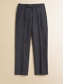 Hugo Boss - Boy's Linen-Blend Suit Pants