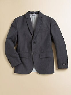 Hugo Boss - Boy's Linen-Blend Suit Jacket