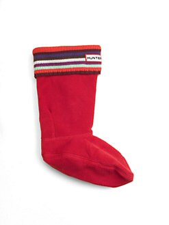 Hunter - Toddler's & Kid's Striped Welly Socks