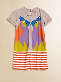 Stella McCartney Kids - Girl's Marnie Parrot Dress