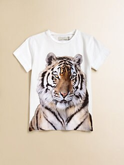 Stella McCartney Kids - Girl's Violet Tiger Tee