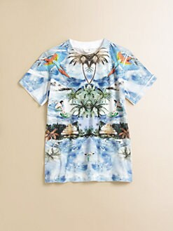 Stella McCartney Kids - Boy's Arlo Tropical Tee