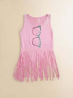 Flowers by Zoe - Girl's Fringe Sunglass Tank Top