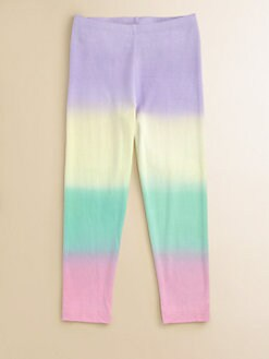 Flowers by Zoe - Girl's Multi-Colored Leggings