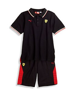 PUMA Ferrari - Boy's Ferrari Polo Shirt