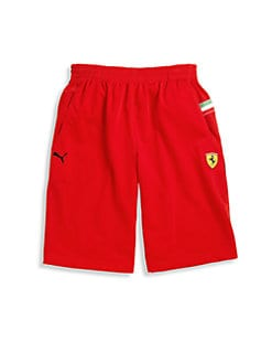PUMA Ferrari - Boy's Ferrari Tricot Shorts